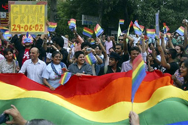 Gay Pride events in India happen throughout the year