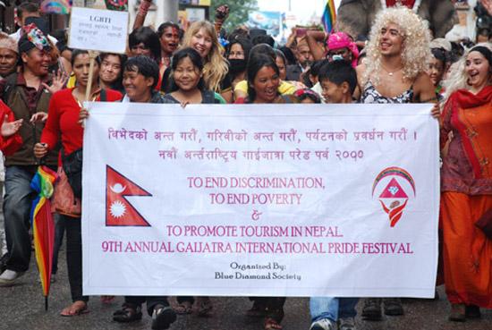 Gay pride in Kathmandu