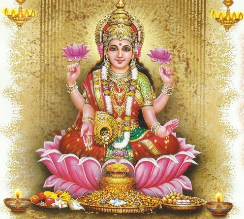 Lakshmi - the goddess of wealth and fortune