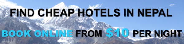 Banner hotels for nepal