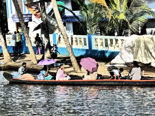 People of the Kerala backwater villages