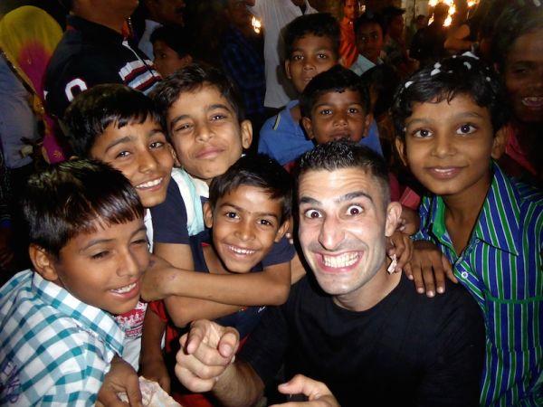 Hate love India muslim wedding group of children
