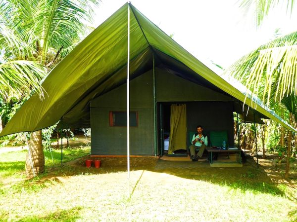 Our tent at Master Campers