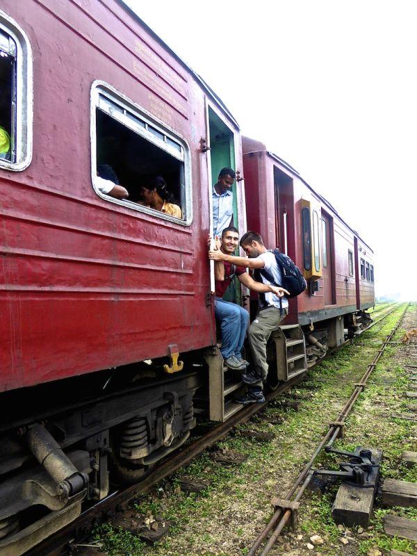 """Quick get back on the train Sebastien!"""