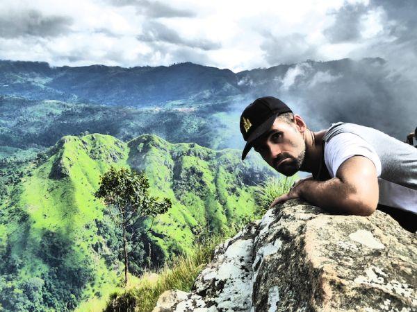 Sebastien at Ella Rock peak