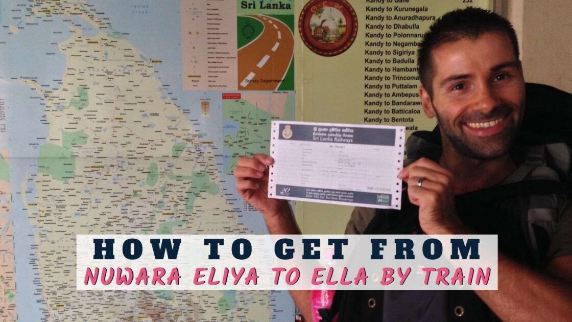 How to get from Nuwara Eliya to Ella by train