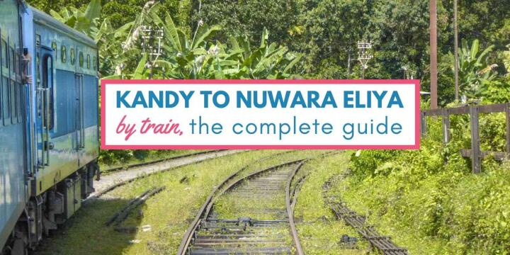 Our complete guide to one of the most picturesque train journeys in Sri Lanka