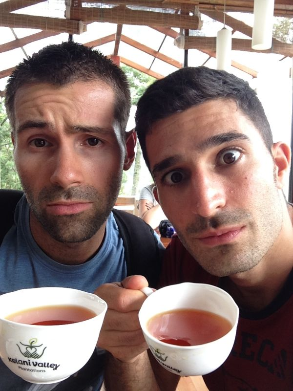 Our tea selfie