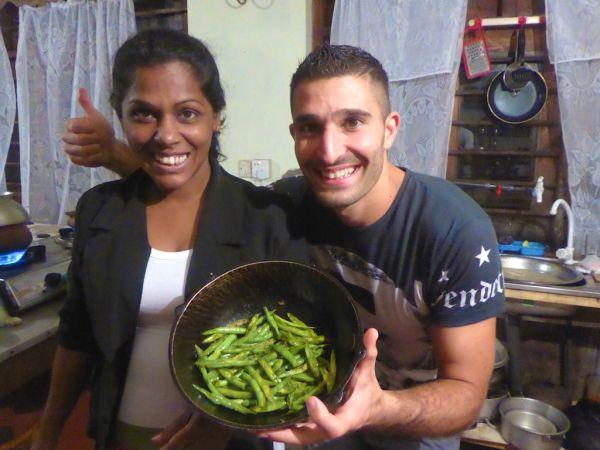 Sri Lankan green bean curry recipe
