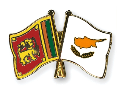 The Sri Lankan and Cypriot flag