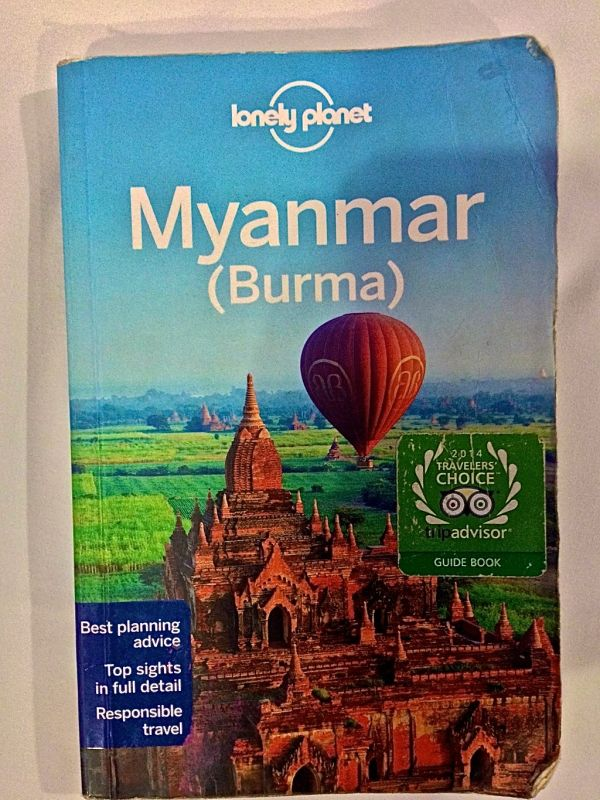 Our Myanmar (Burma) Lonely Planet