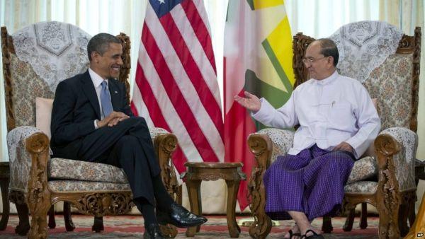 Obama meeting Thein Sein