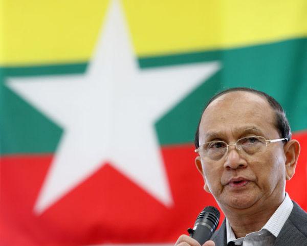 President Thein Sein of Myanmar