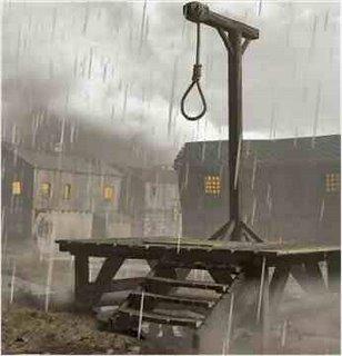 Sri Lankan hanging gallows
