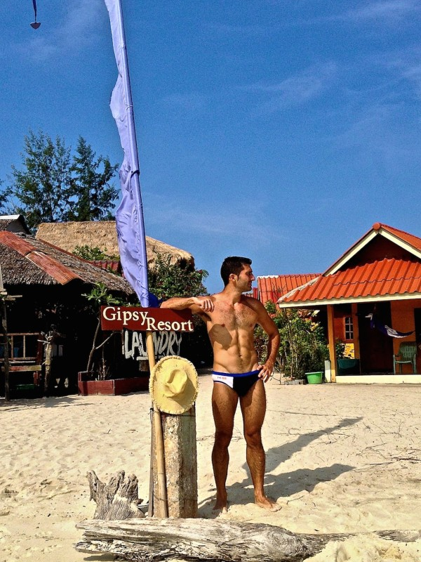 Gay Koh Lipe: Stefan at the Gipsy Resort