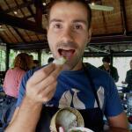 Recipe for Laotian aubergine jeow spicy dip