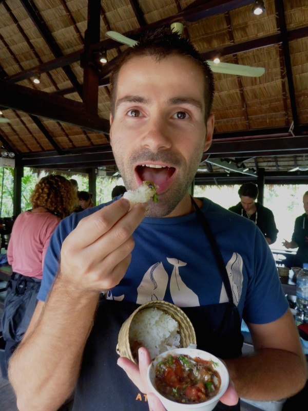 Laotian aubergine jeow recipe