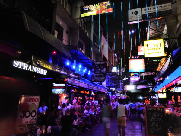 Silom Soi 4 in Bangkok
