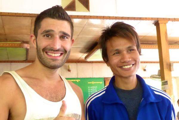 Stefan with Burmese boy with lovely teeth
