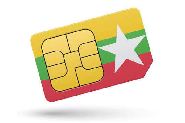 SIM cards in Myanmar used to be very expensive