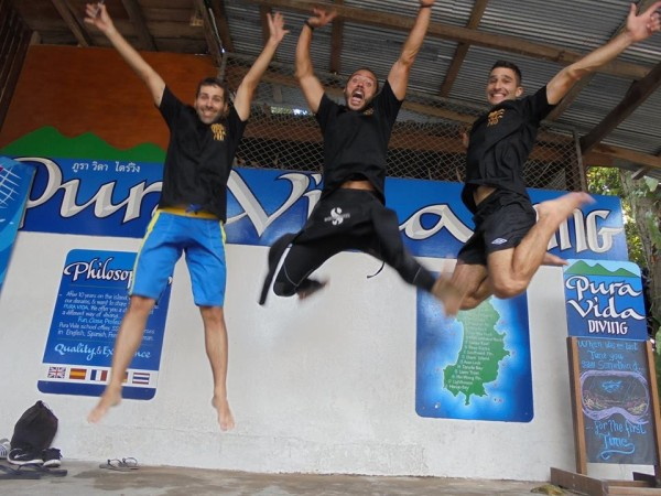 Getting certified with Pura Vida diving school