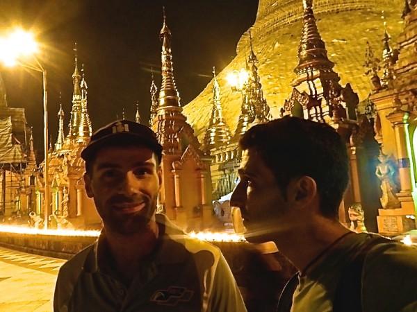 Our Shwedagon Pagoda selfie
