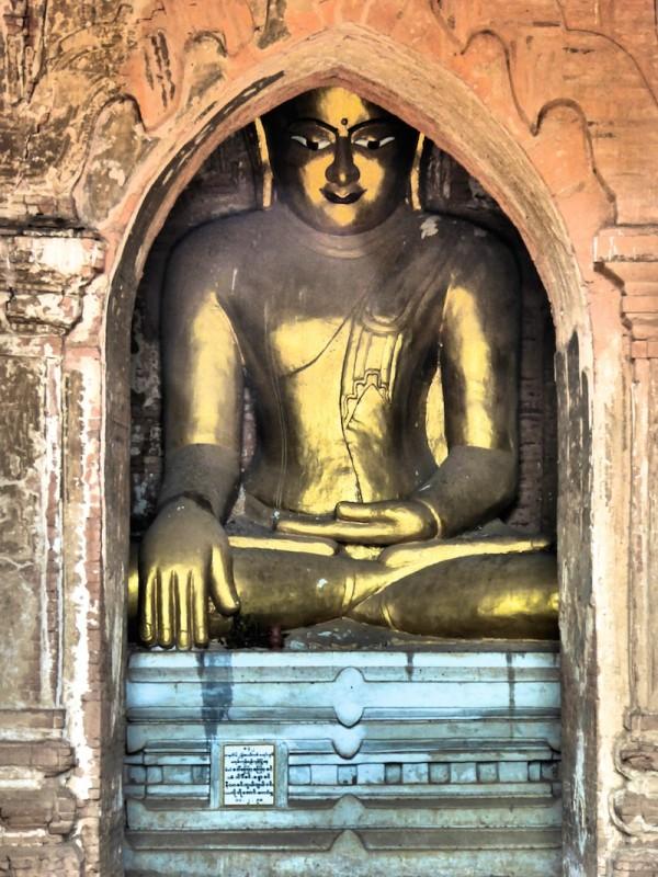 Dhammayangyi Pahto temple buddha Bagan