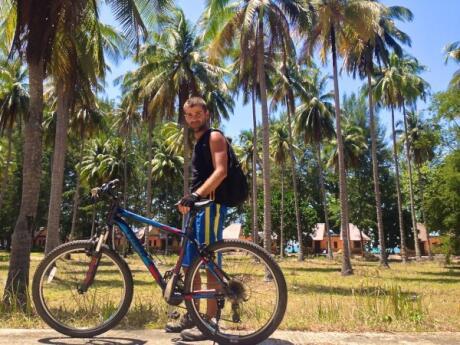 koh tarutao offers a lot of biking opportunities