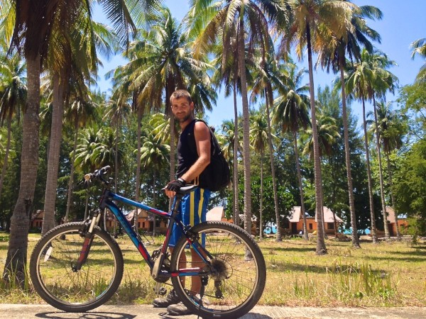 koh tarutao offers a lot of biking opportunities