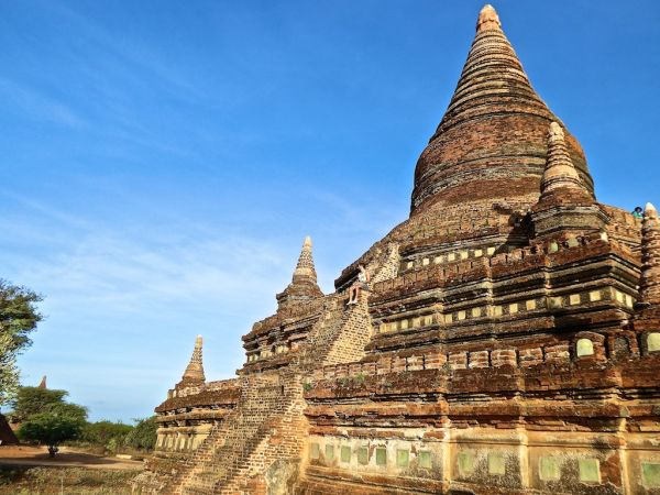 The popular Buledi pagoda all for us