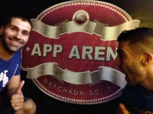 App Arena local gay scene gay bar Bangkok Ratchada Soi 8