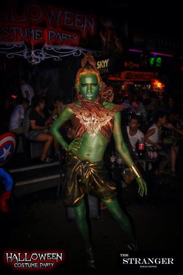 A fierce halloween outfit