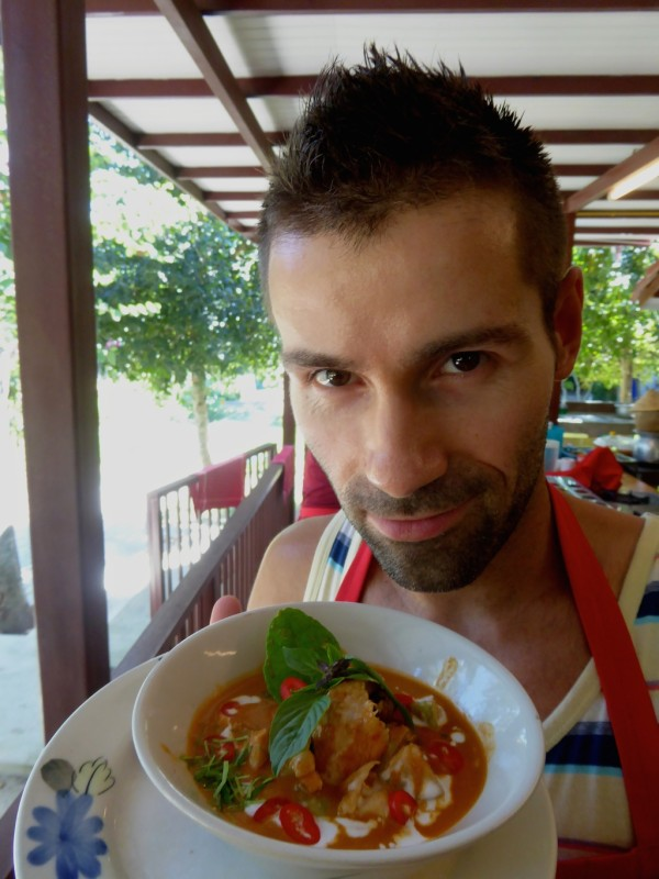 best streetfood in Thailand Thai red curry best food of Thailand at cooking class