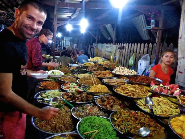 Street food in Luang Prabang