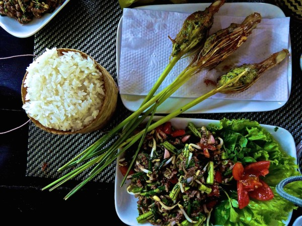 Interesting foods to try in Laos