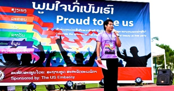 Laos Pride at the US Embassy