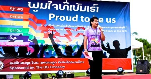 Laos Pride at the US Embassy