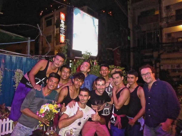 Gay hook up Phnom Penh