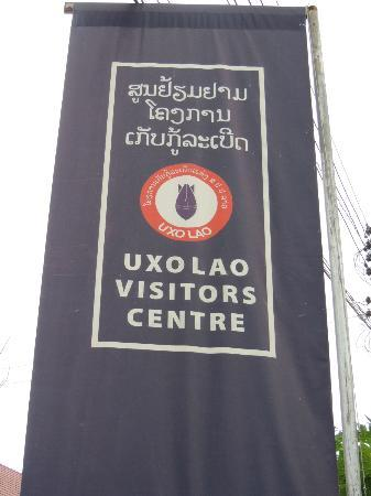 The UXO Laos Visitor Centre