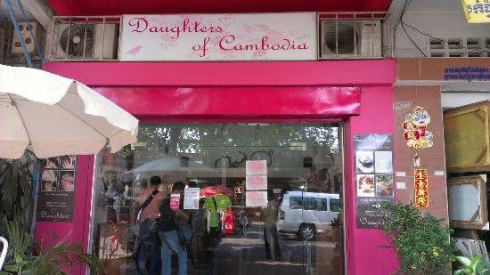 The Daughters of Cambodia cafes