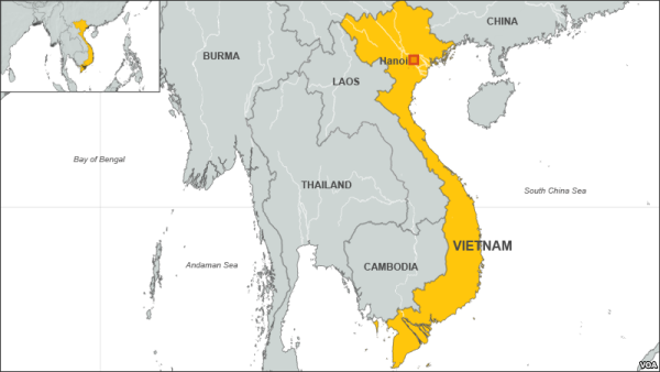 interesting facts about Vietnam - S shaped country
