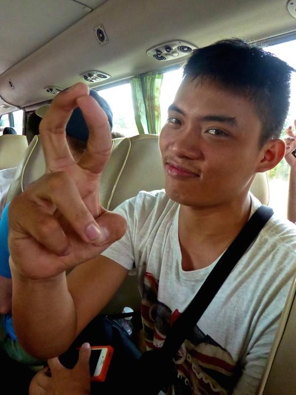 interesting facts about Vietnam rude finger gesture