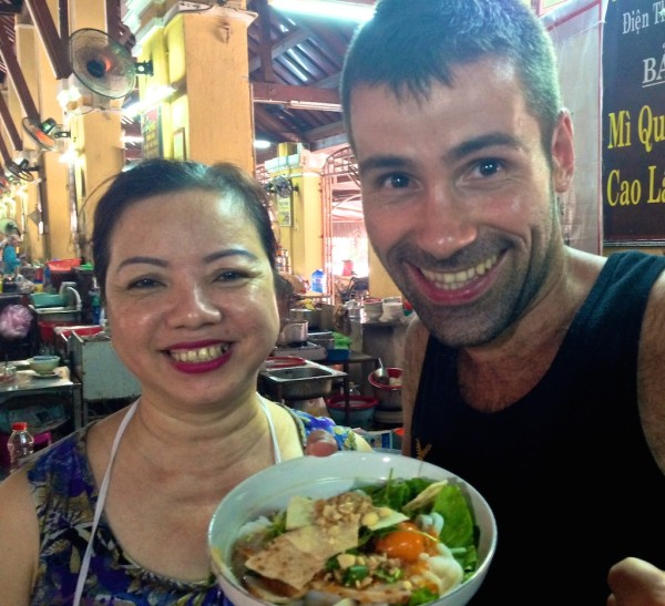 Mi Quang: one of Sebastien's favourite traditional foods of Vietnam