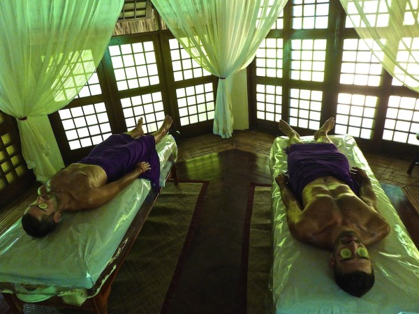 Our massage at Mandala Spa