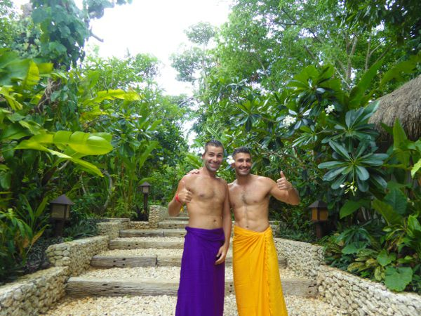 The Nomadic Boys at Mandala Spa