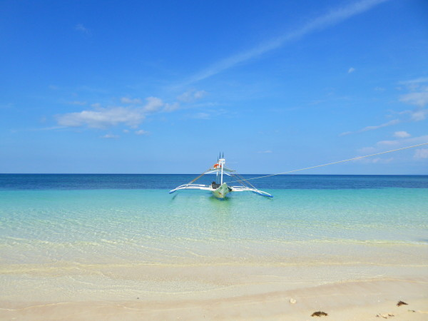 One of the stunning beaches of Boracay