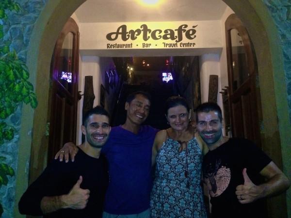 Artcafe our favourite restaurant in El Nido