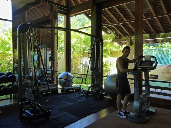 Four Seasons Langkawi gym Seb