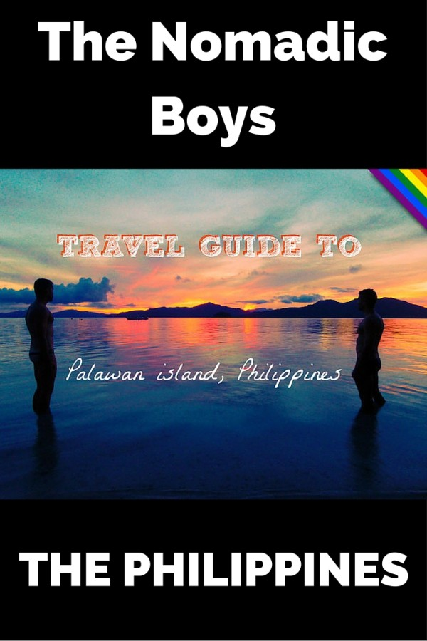 The Nomadic Boys Gay Guide to Palawan in the Philippines