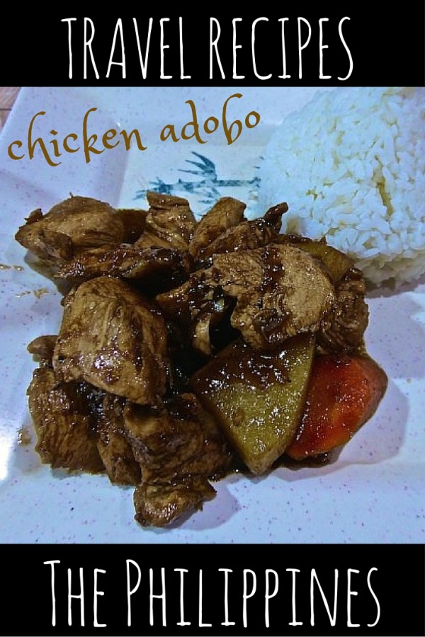 Simple #Filipino chicken #adobo #recipe from #Palawan